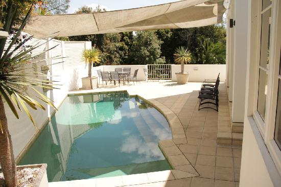 The Consulate Luxury Bed and Breakfast: Swim or relax by the pool