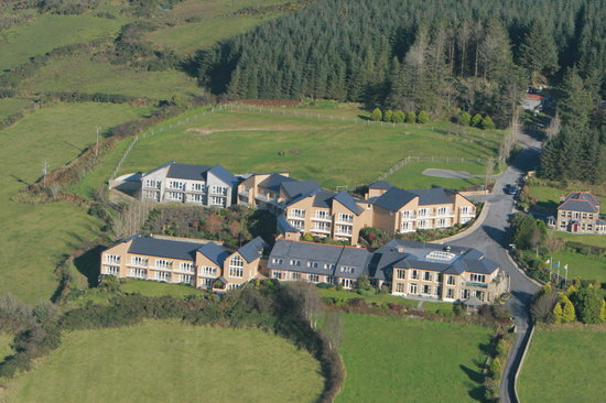Cromleach Lodge Country House Hotel: Aerial Shot