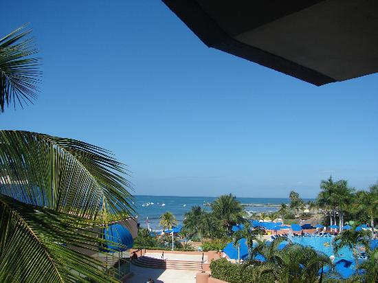 Azul Ixtapa: View from our balcony