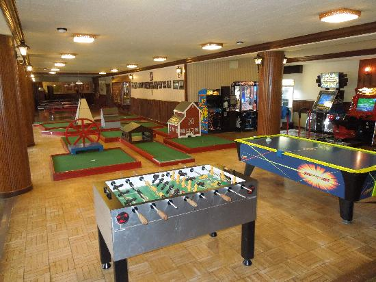 Great game room for the kids picture of skytop lodge for Kids game rooms