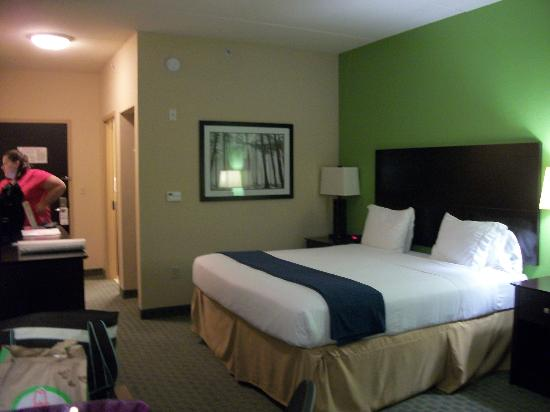 Holiday Inn Express Hotel & Suites Newport South: Our room.