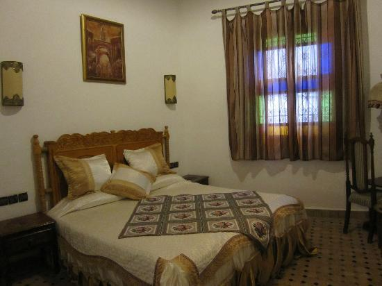 Riad Jardin Chrifa: bedroom