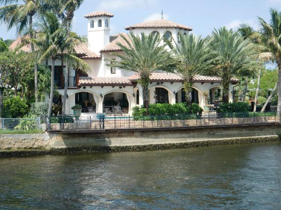 beautiful homes picture of intracoastal waterway fort