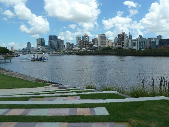 Mantra South Bank: Brisbane from the South Bank