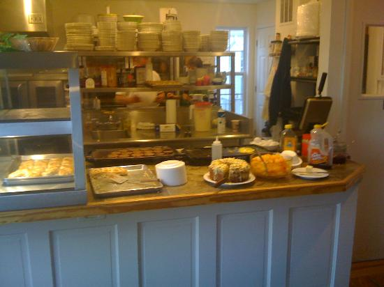 Bradford Inn: Fresh breakfast - made to order