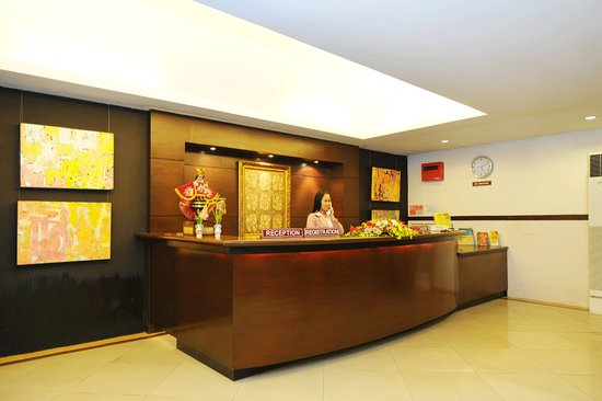 ‪‪Sampaguita Suites JRG‬: sampaguita Suites JRG Front Desk‬