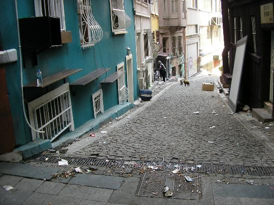 Beta Home Istanbul: &quot;Kneipenmll&quot; vor der Haustr