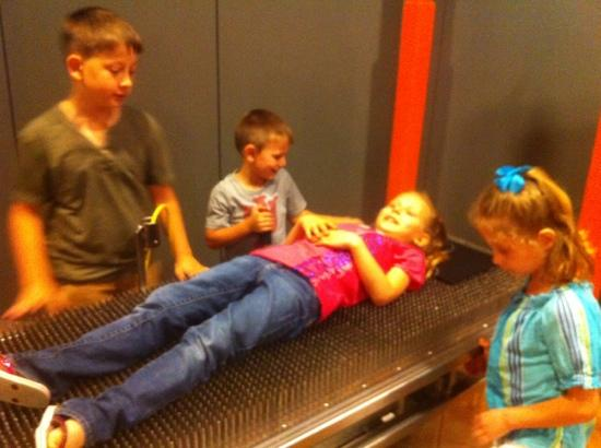 Museum Of Discovery: bed of nails was a big hit