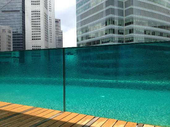 Awesome Pool Picture Of Ascott Raffles Place Singapore Singapore Tripadvisor