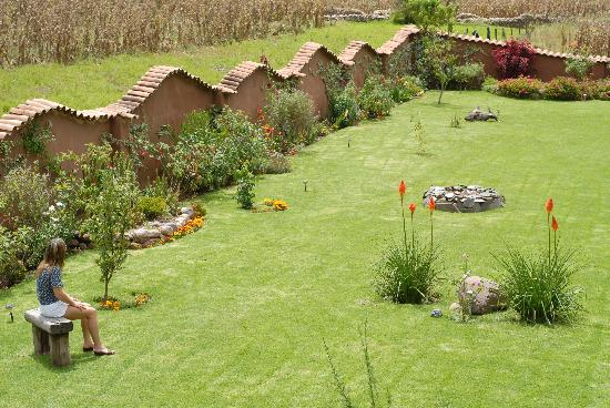 The Green House Peru: The garden