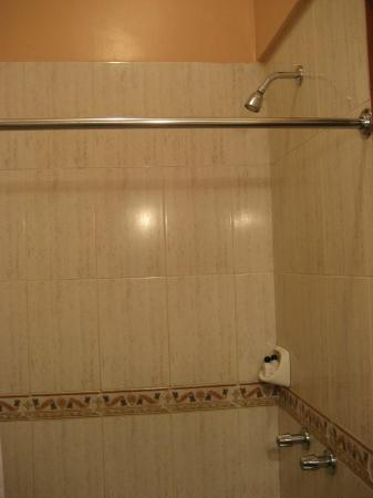 Hotel La Cartuja: room 2 shower