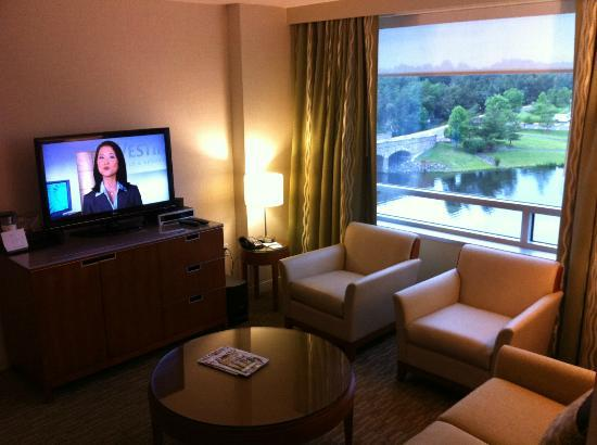 The Westin Washington Dulles Airport: Suite Living Room