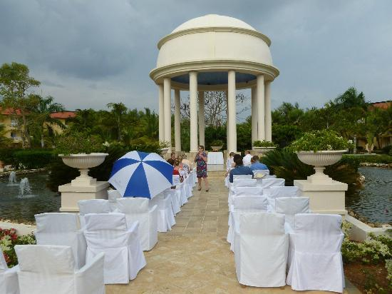 wedding gazebo picture of dreams punta cana resort spa