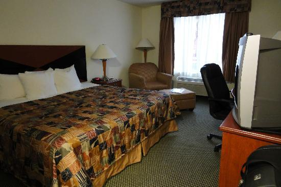 Sleep Inn & Suites: chambre