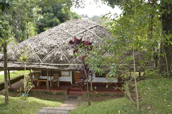 Spice Village: One of the bungalows