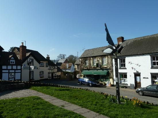 Salutation Inn: View of Inn from the village green