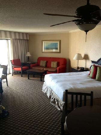 Omni Hilton Head Oceanfront Resort: premier ocean view king