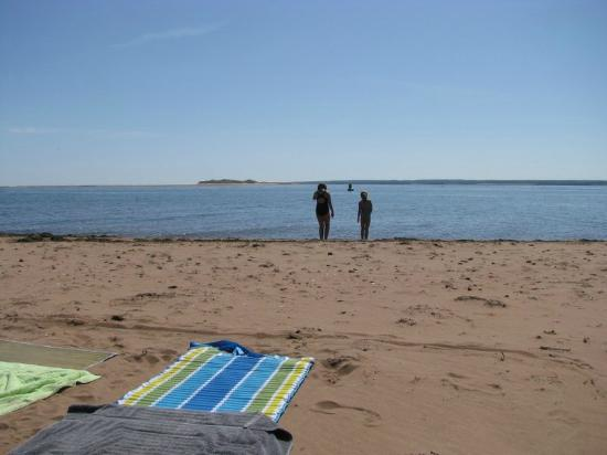 French River, Kanada: beach