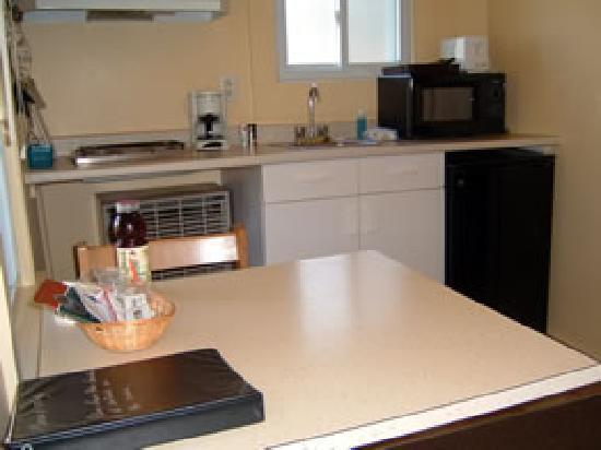 A Better Life Cabins: Cottage #8 Kitchenette
