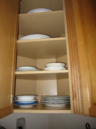 West Bay Village: plates/bowls
