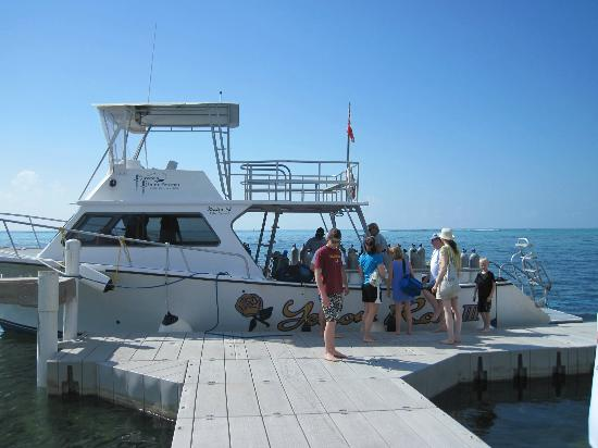Pirates Point Resort: Getting ready for a dive - no rush, great dive masters...