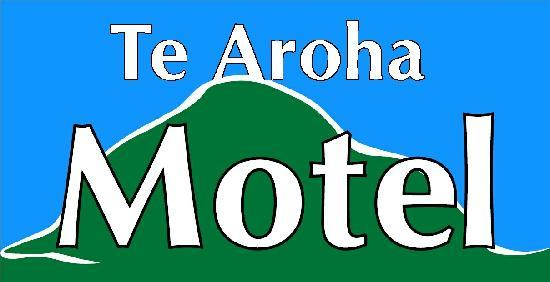 Te Aroha Motel: Look for this sign