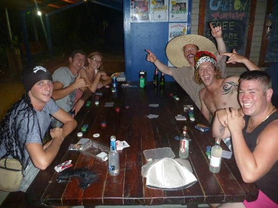 Cable Beach Backpackers: Common social/Dining area