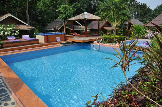 Kwaimaipar Orchid Resort Spa & Wellness: la piscine