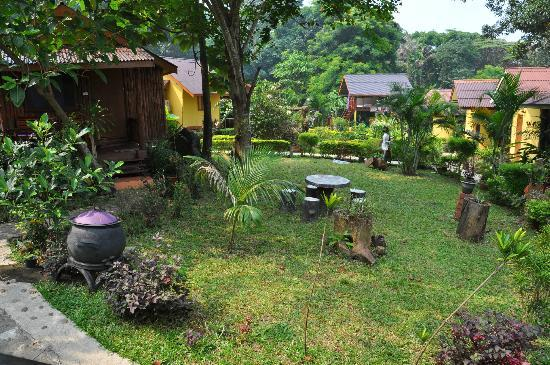 Kwaimaipar Orchid Resort Spa & Wellness: le jardin
