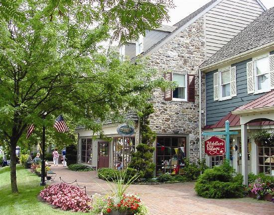 Bucks County, Pensilvania: Peddler's Village (Anthony Sinagoga)