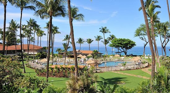‪‪Aston Maui Kaanapali Villas‬: Pool with Oceanviews‬