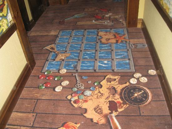 Pirate Floor Carpet Picture Of Legoland Resort Hotel