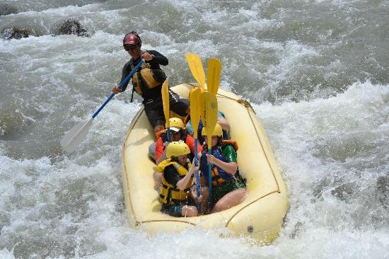 Rafiki Safari Lodge: Rafting