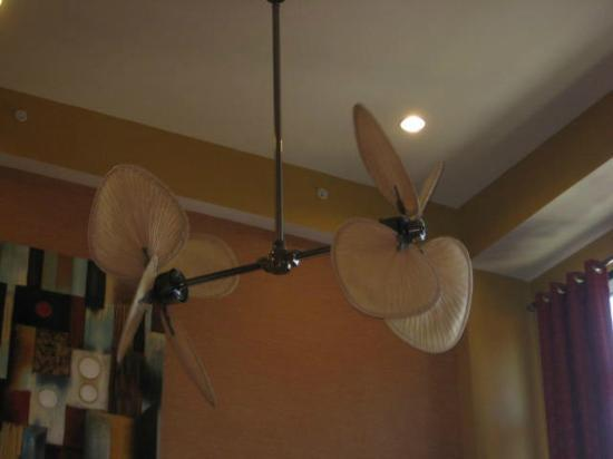 Comfort Suites: Ceiling fan in the lobby