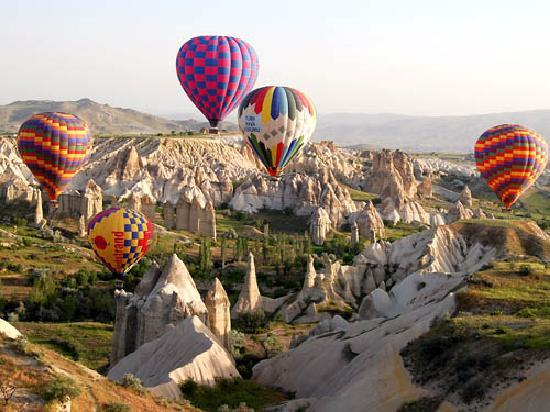Love Valley Goreme Air Balloons Love Valley