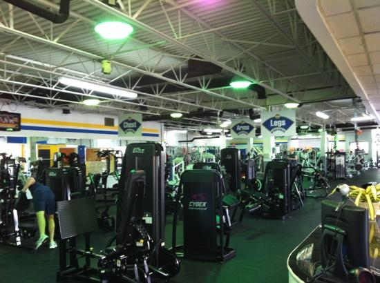 Homewood Suites by Hilton Atlanta - Buckhead: Share gym for Homewood Suites Buckhead