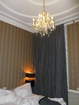 Stempels Hotel: Bedroom ceiling