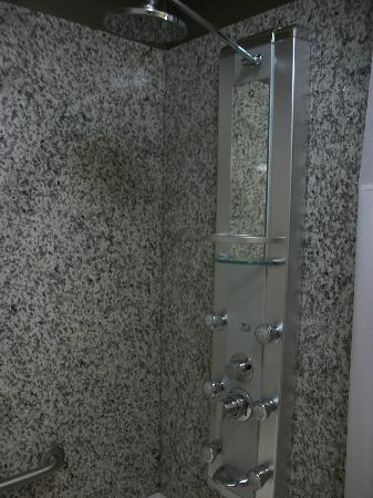 Acclaim Hotel Calgary Airport: ohhh the shower!