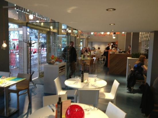 Modern decor picture of ask italian restaurant derby