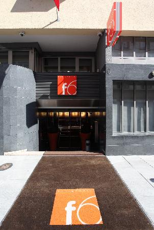 Entrance design hotel f6 picture of design hotel f6 for Hotel design f6 geneva
