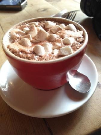 hot chocolate with marshmallow - Picture of The Breakfast Club, London ...