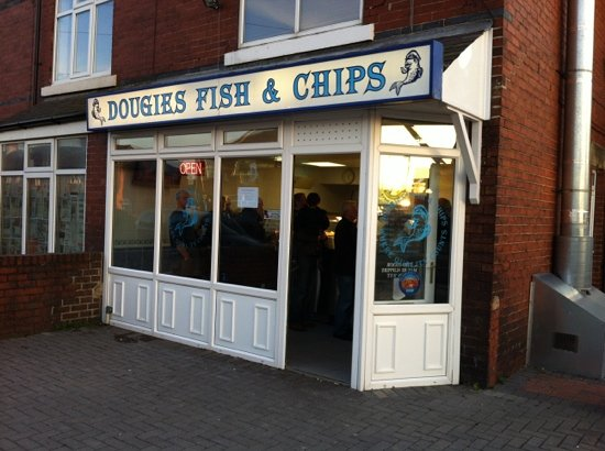 Dougie 39 s fish and chips harrogate restaurant reviews for Fish chips restaurant