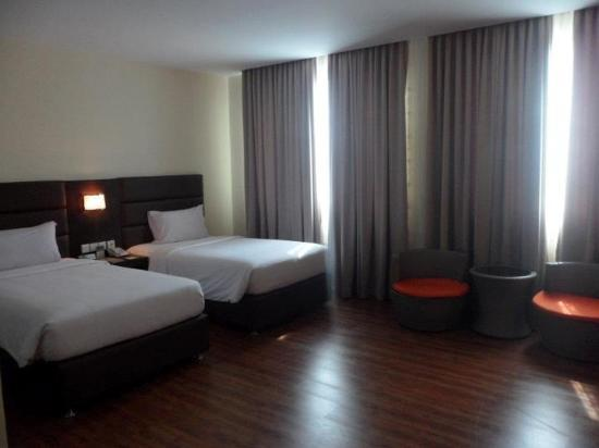 The BCC Hotel & Residence: Twin room