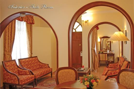 Lake Palace: Interior Room