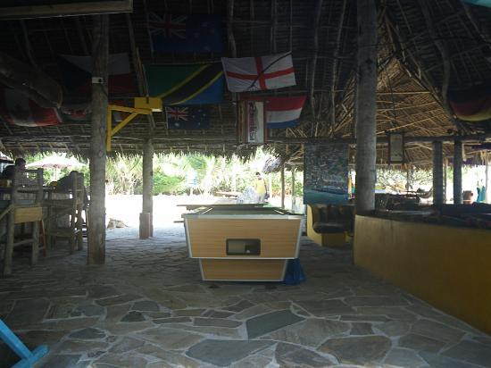 Mikadi Beach Lodge: Public Area, Pool Table