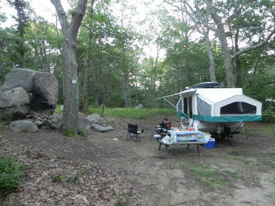 ‪Cape Ann Camp Site‬