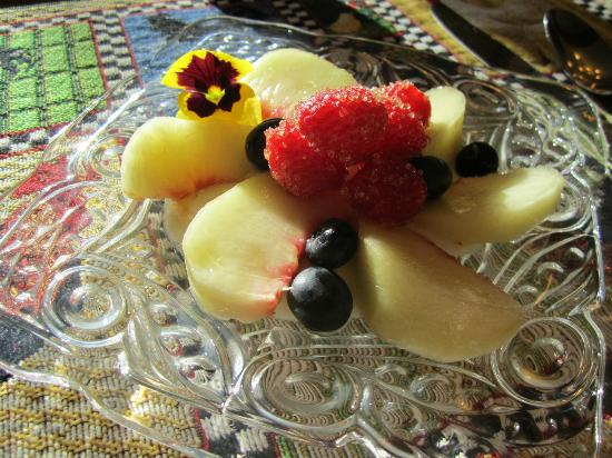 Albion Inn: Fruit plate