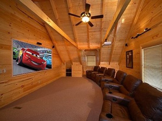 Black Bear Lodging: Home Theaters