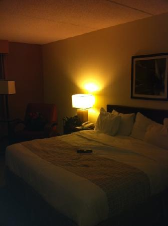 La Quinta Inn & Suites Baltimore BWI Airport: bed