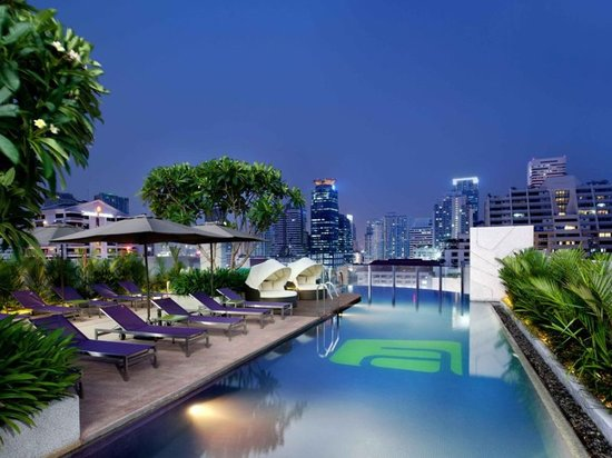 Aloft Bangkok - Sukhumvit 11: Splash Pool